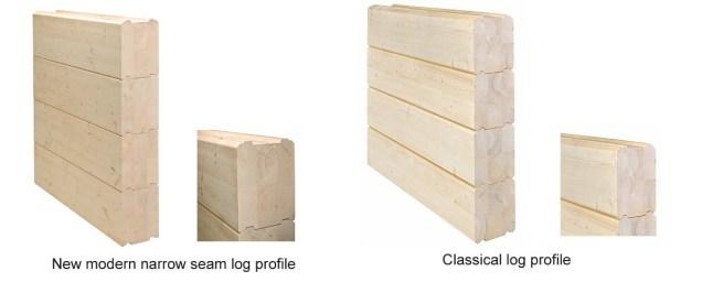 Logs for log homes