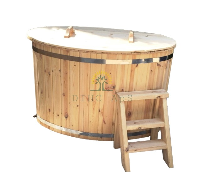 bain nordique en bois de pin assemble ou kit