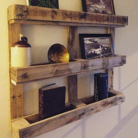 wooden Pallet-Shelf