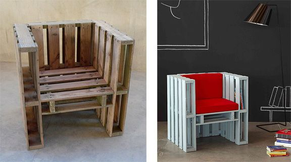 Pallet Adirondack Chair Palletarmchair