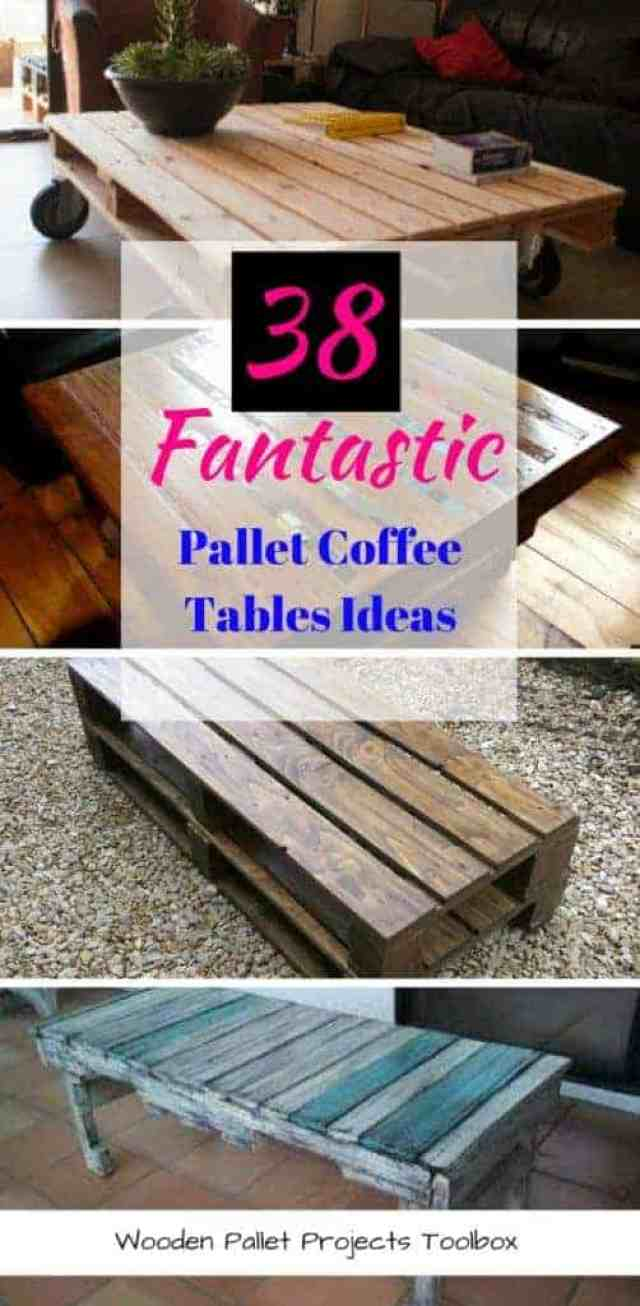 38 Fantastic Pallet Coffee Tables_Ideas