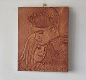 Дърворезба за Свети Валентин