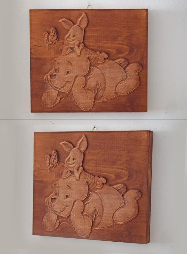Дървени картини