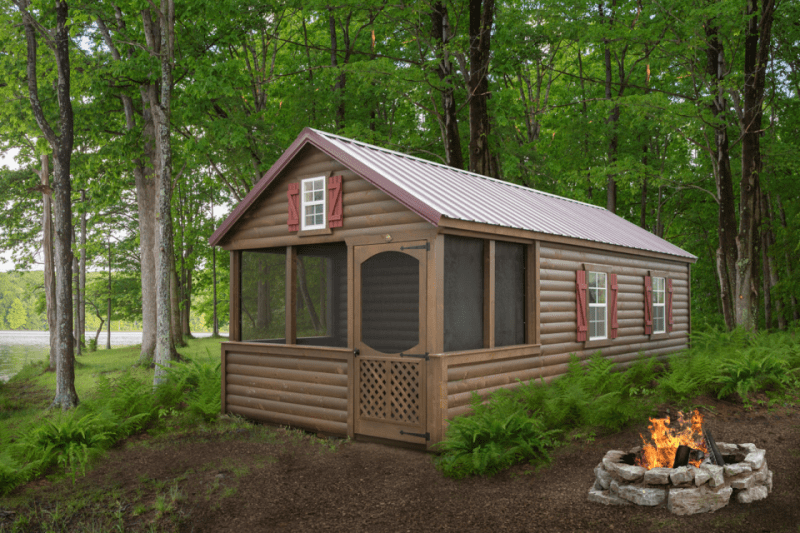 LakeSide Cabins Premier Collection - Log Camping Cabin