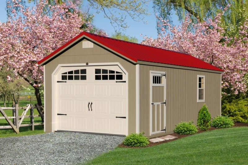 Premier Collection - Garden Shed Garage