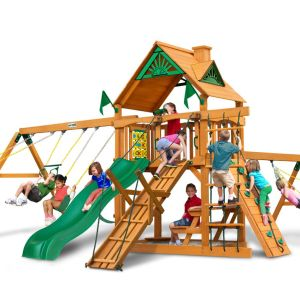 Gorilla Playsets Frontier with Standard Wood Roof - AP