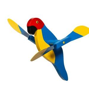 Macaw Whirly Bird by Beaver Dam