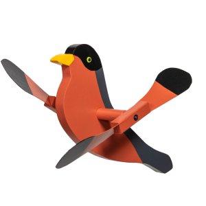 Robin Whirly Bird by Beaver Dam