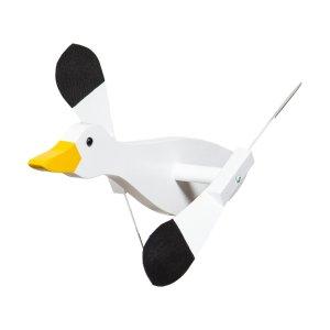 Snow Goose Whirly Bird by Beaver Dam