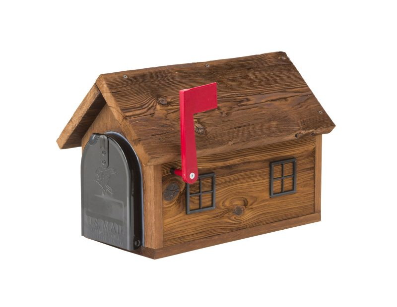 Rustic Barn Mailbox by Brookside Woodworks