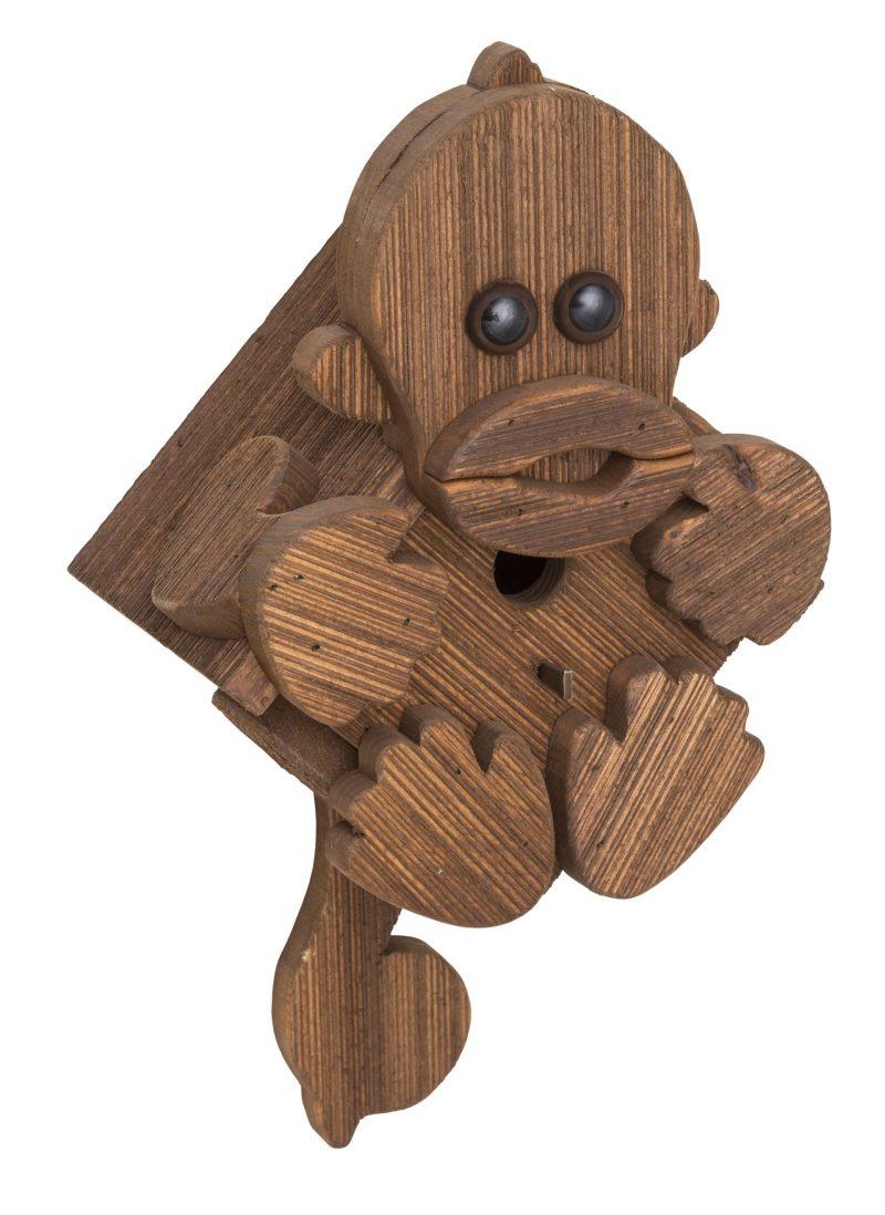 Monkey Birdhouse by Brookside Woodworks