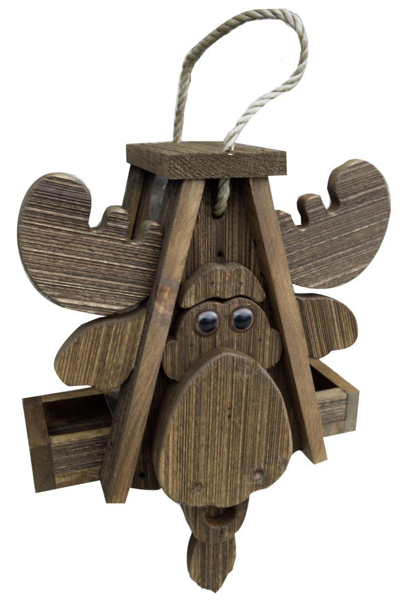 Moose Birdhouse by Brookside Woodworks