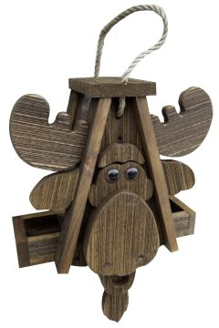 Moose Birdhouse by Brookside Woodworks