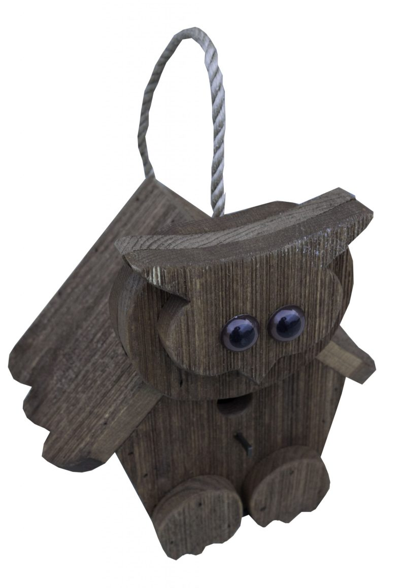 Owl Birdhouse by Brookside Woodworks