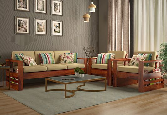 Wooden Sofa Set: Best Wooden Sofa Set Online In India Upto