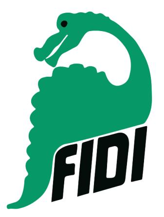 FiDi šventės logotipas.