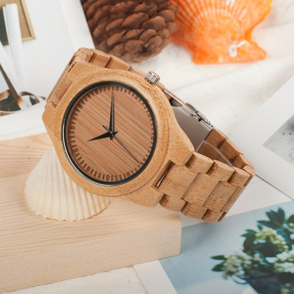 Men Business Watch Bamboo BOBO BIRD Wristwatches with Bamboo Band Wood Watch for Men Dropshipping Accept Customize C-D19 2