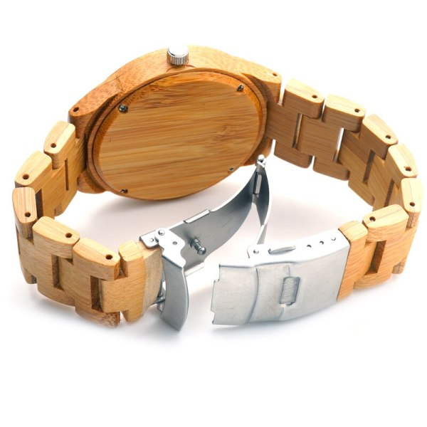 Men Business Watch Bamboo BOBO BIRD Wristwatches with Bamboo Band Wood Watch for Men Dropshipping Accept Customize C-D19 5