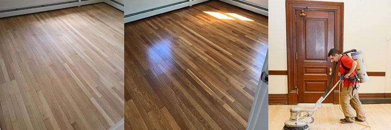 hardwood floor refinishing the