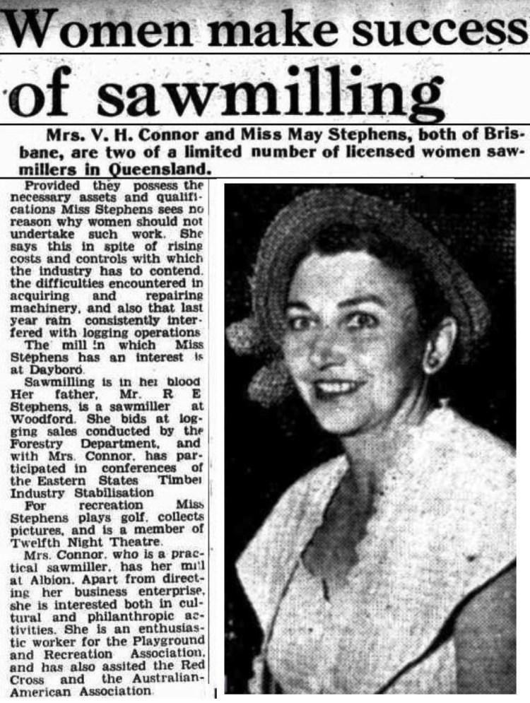 Brisbane Telegraph 13 Jan 1951