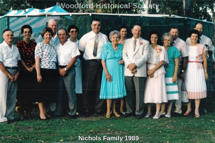 Nichols Family 1989