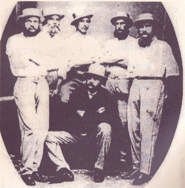 Archer Brothers 1867 Alesander, Thomas, Friend Lionel Rice, James,Archibald, front William
