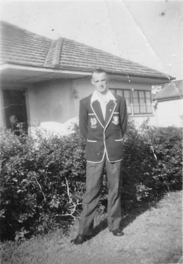 Alex Evans c1956