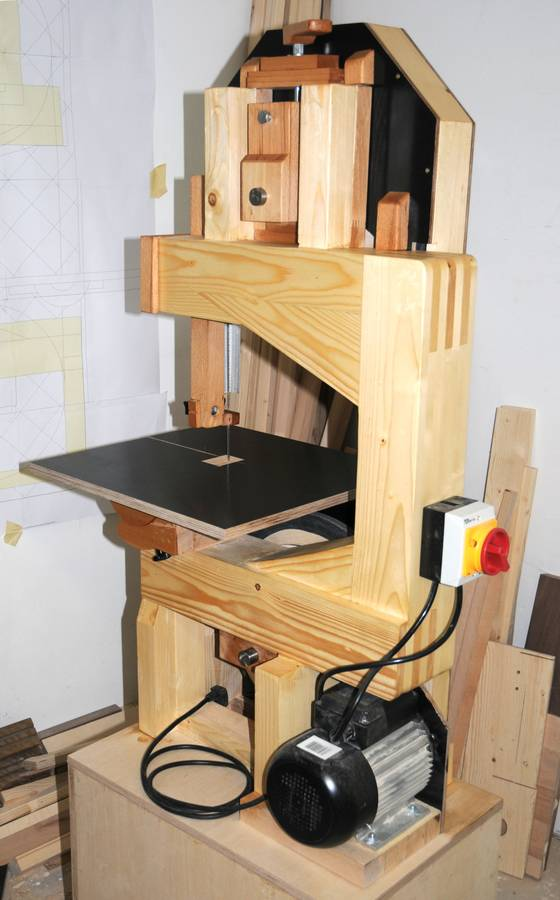Wooden Band Saw PDF Woodworking
