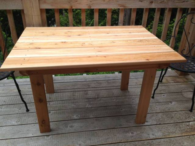 Patio Table Plans Free Outdoor Diy Shed Wooden Playhouse