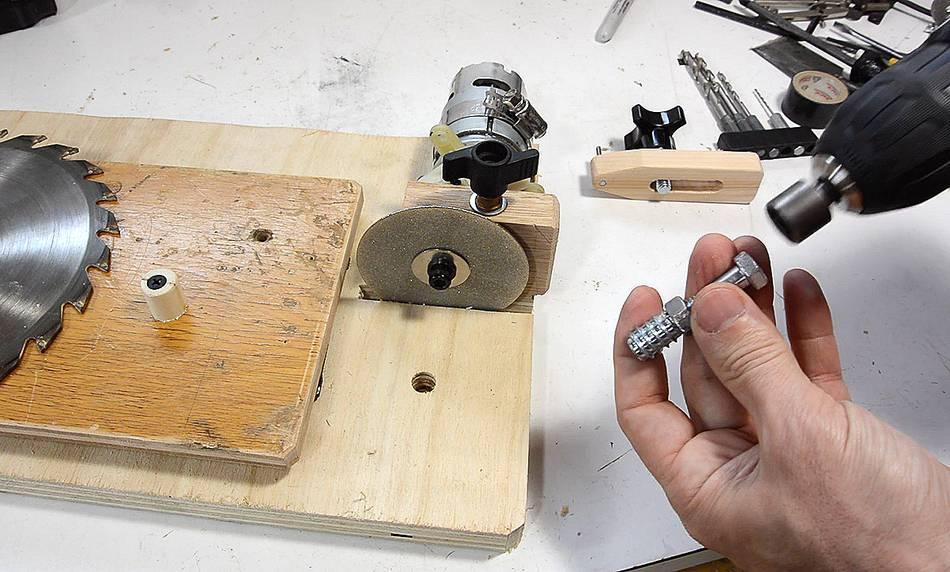 Stone Diy Holder Sharpening Jig