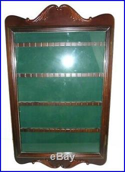 wood glass case