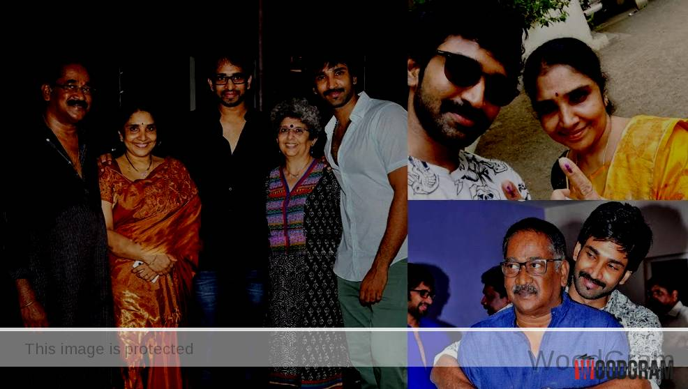 Aadhi Actor Family