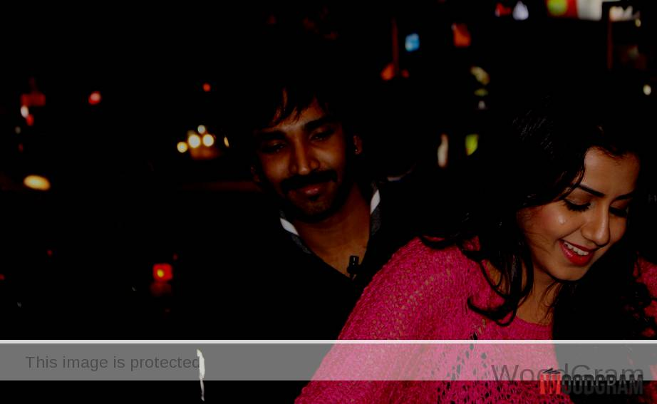 Aadhi Pinisetty With His Roumer Gf Nikki