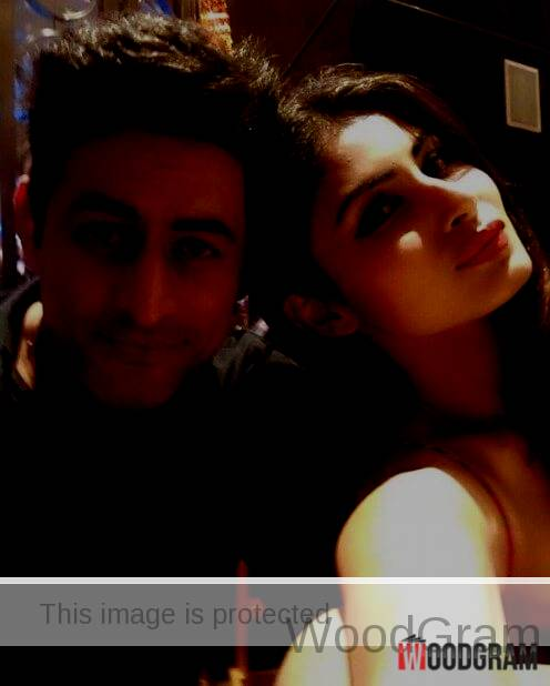 Mouni Roy With Mohit Raina