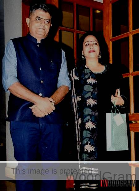 Gajraj Rao With His Wife