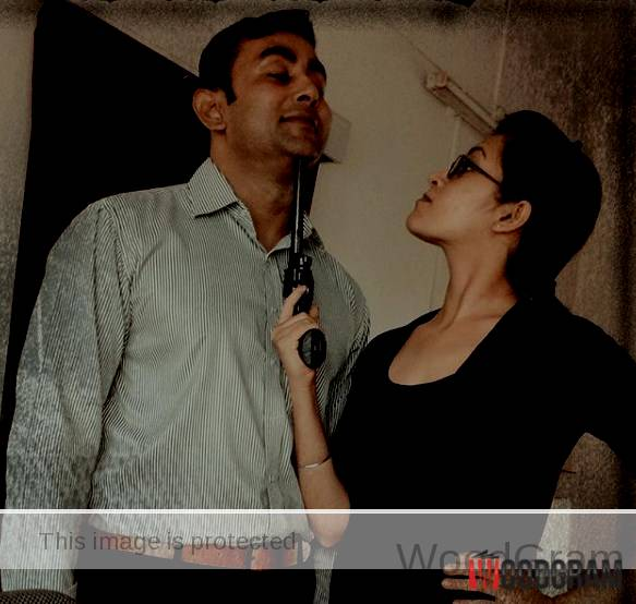 Parakh Madan With Her Husband