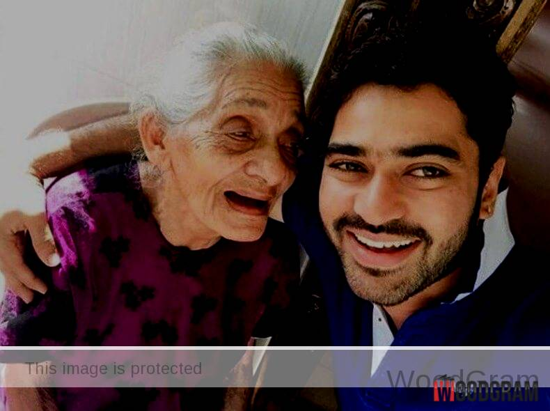 Shine Shetty With His Old Age Grandmother