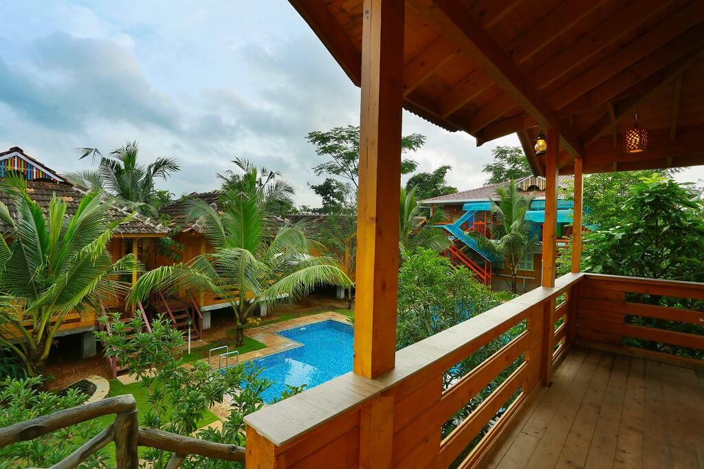Bodhi Treehouse Balcony