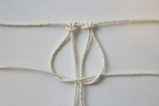 technique noeud plat