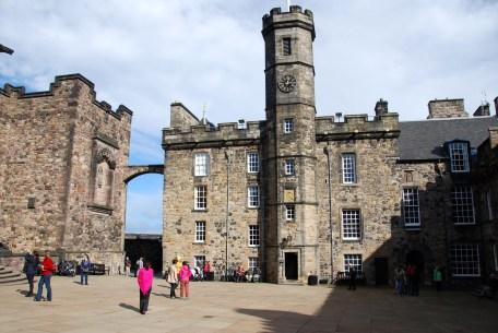 Edinburgh Castle - building that houses the Crown Jewels