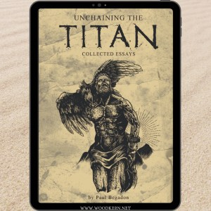 Unchaining the titan ebook cover image