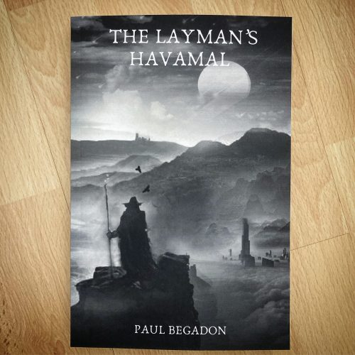 the layman's havamal paperback book cover