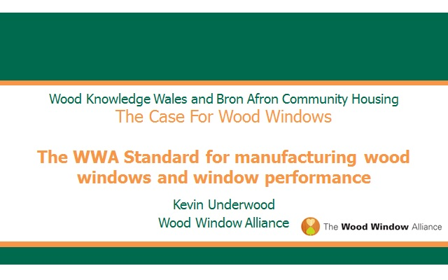 Kevin Underwood (Event 1) - Wood Windows Alliance