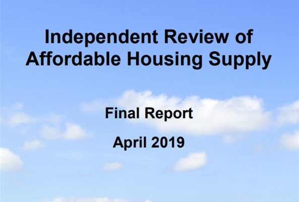 Independent Review of Affordable Housing Supply