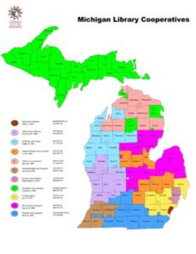 Michigan's eleven library cooperatives