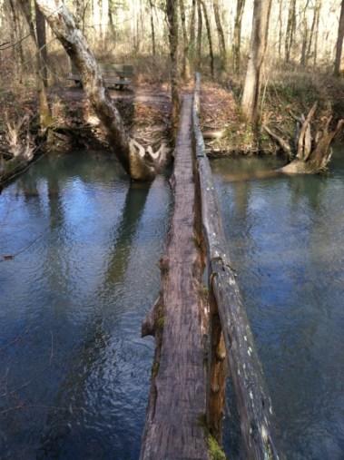 First footbridge