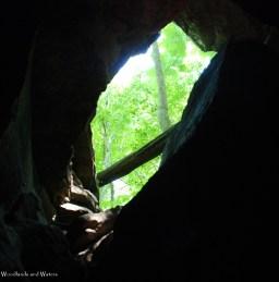 Window in the rock