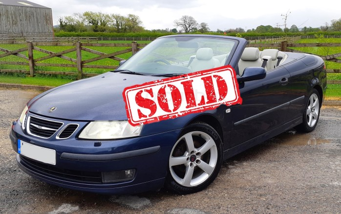Saab 9-3 - sold