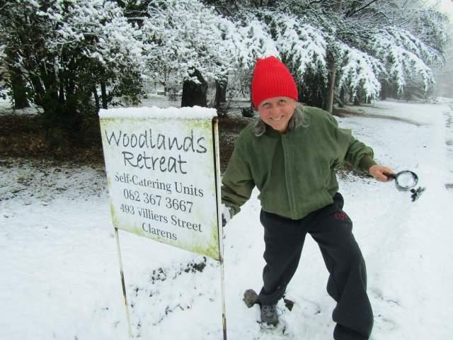 Woodlands Retreat Clarens Snow 2 -30