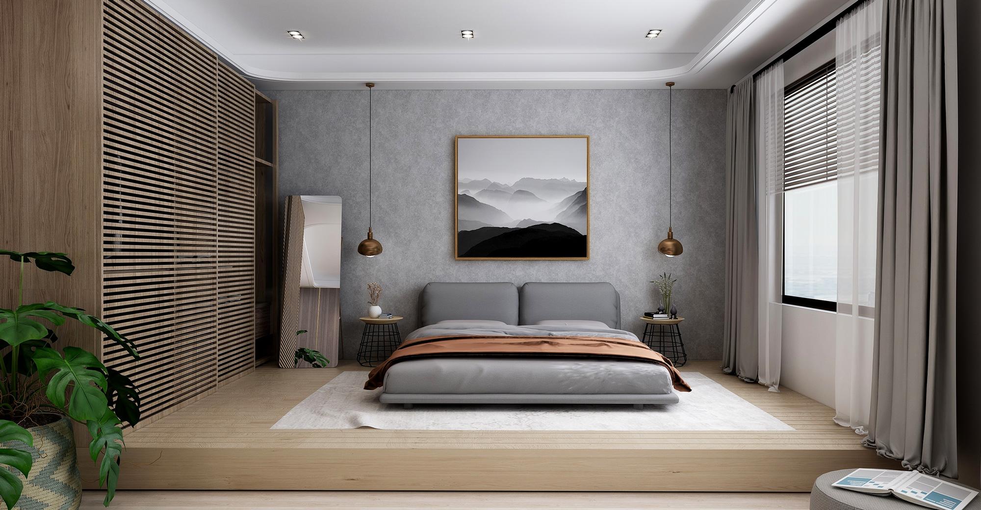 master bedroom design 主臥室 室內設計